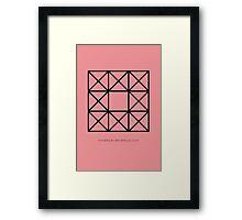 Design 60 Framed Print