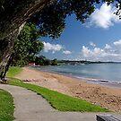 THE BEACH PAIHIA, BAY OF ISLANDS, NEW ZEALAND......! by Roy  Massicks
