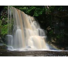 West Stonesdale Falls, Swaledale Photographic Print