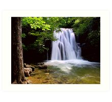 Janets Foss, Yorkshire Dales Art Print