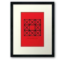 Design 65 Framed Print