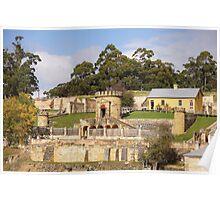Beautiful Tasmania - Port Arthur, the guardhouse Poster
