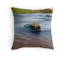 River Wharfe, Linton, Yorkshire Dales Throw Pillow