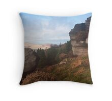 Above Embsay, Yorkshire Dales Throw Pillow