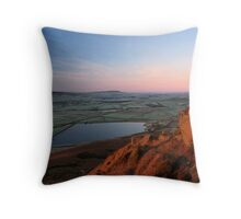 Embsay Sunrise, Yorkshire Dales Throw Pillow