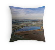 Embsay Sunrise II, Yorkshire Dales Throw Pillow