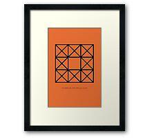Design 66 Framed Print