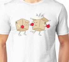 Boxing Boxes Unisex T-Shirt
