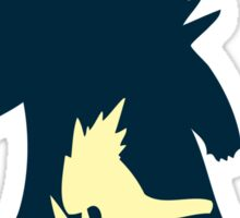 PKMN Silhouette - Cyndaquil Family Sticker