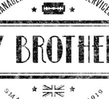 Peaky Blinders - Shelby Brothers - Black Dirty Sticker