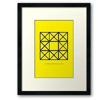 Design 67 Framed Print