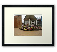 Anzac  Day - 2012 Echuca - Echuca Memorial Framed Print