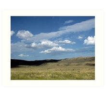 Wyoming Sky Art Print