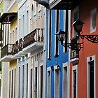 Street in Old San Juan by avresa