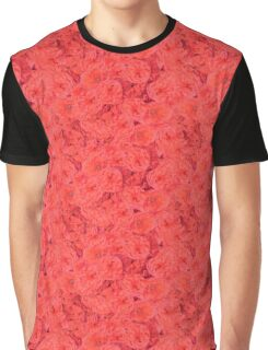 Red Blossoms Graphic T-Shirt