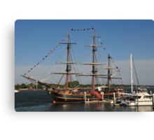 HMS Bounty - St Augustine Canvas Print