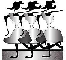 Chorus Line Photographic Print