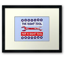 USA Election 2016 Framed Print