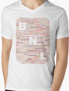 Barenaked Ladies - All the songs! Mens V-Neck T-Shirt