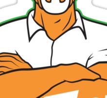Mr. White Sticker