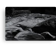 Rocks of time Canvas Print