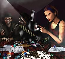 RPG Ezine Cover Illustration  by XadrikXu