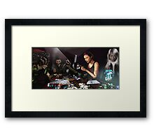 RPG Ezine Cover Illustration  Framed Print