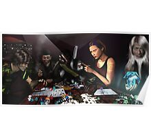 RPG Ezine Cover Illustration  Poster