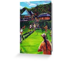 IMPERIAL vs JOE'S Good Friday Cricket Match Greeting Card