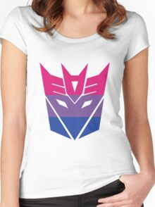Decepticon Pride [Bisexuality] Women's Fitted Scoop T-Shirt