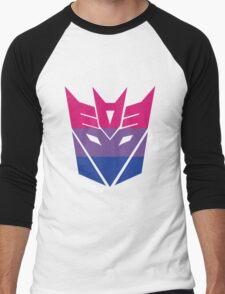 Decepticon Pride [Bisexuality] Men's Baseball ¾ T-Shirt