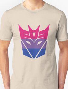 Decepticon Pride [Bisexuality] Unisex T-Shirt