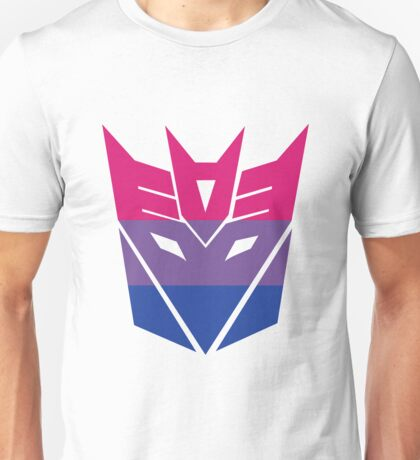 Decepticon Pride [Bisexuality] Unisex T-Shirt