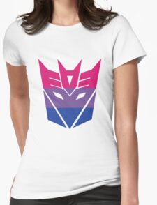 Decepticon Pride [Bisexuality] Womens Fitted T-Shirt