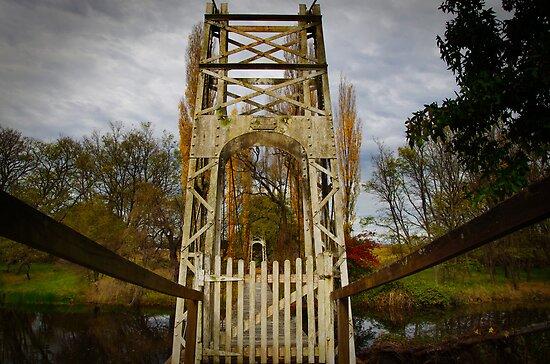 A little Bridge across a River by Clare Colins
