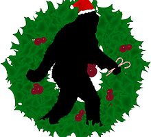 Gone Christmas Squatchin'  by Gravityx9
