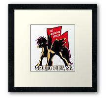 Scooty Puff Sr. Framed Print