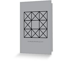 Design 73 Greeting Card