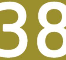 Kaiji Season 1 DERSV 38 ERAMU T-shirt Sticker