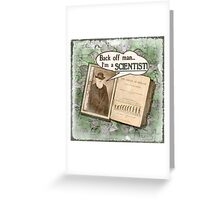 Popular Science: Charles Darwin (distressed) Greeting Card
