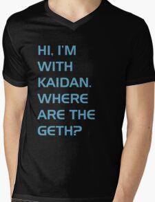 Where are the Geth? Mens V-Neck T-Shirt