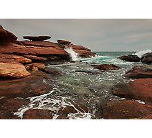 Mushroom Rock II - Kalbarri Photographic Print