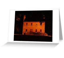 Historic Home Greeting Card