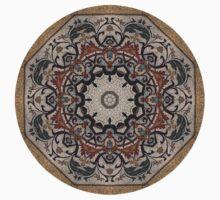 Mosaic Floor Tile One Piece - Short Sleeve