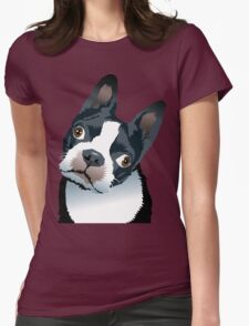 quizzical Bailey Womens Fitted T-Shirt