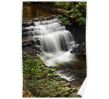 Waterfall Landscape Poster