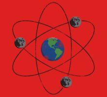 if earth had three moons... One Piece - Short Sleeve