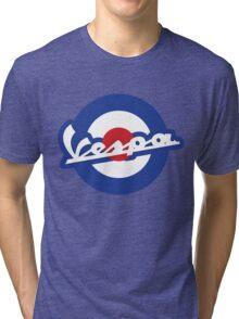 Vespa script mod symbol Tri-blend T-Shirt