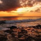 in heaven yet alive (Hawaiian Seascape) by Angelika Sielken
