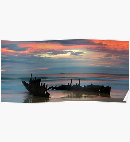 Sunrise at SS. Dicky Poster